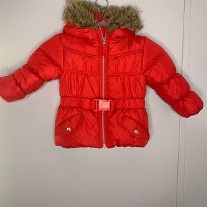 Rothschild Red Puffer Jacket 2T